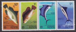 Kenya - 1977 - Serie Vissen MNH (11120) - Kenia (1963-...)
