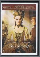 PELICULA En DVD - Original Usada - LA DUQUESA - Sin Clasificación