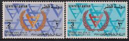 Qatar 1981 International Year Of Disabled Persons Yvert 438-39** - Qatar