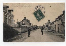 CPA  03 : DOYET   Rue Ledru  Rollin     1908    A   VOIR  !!!! - France