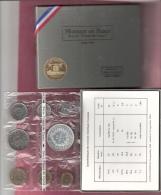 FRANKRIJK FRANCE FDC Set 1973 ORIGINELE VERPAKKING - Monnaies