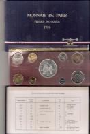 FRANKRIJK FRANCE FDC Set 1976 ORIGINELE VERPAKKING - Monnaies