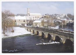 Carte Photo - Haironville - Vue Générale Sous La Neige (pont De 1618) Circulé Sans Date, CPM - France