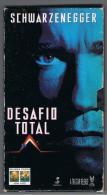 PELICULA En VHS - Original Usada -  DESAFIO TOTAL - Video Tapes (VHS)