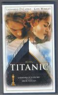 PELICULA En VHS - Original Usada - TITANIC - LEONARDO DI CAPRIO - Video Tapes (VHS)