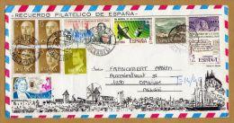 Enveloppe Torrente De Pareis La Galobra Recuerdo Filatelico De Espana Suller Baleares To Opwijk Belgie - Spagna