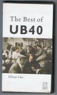 PELICULA En VHS - Original Usada - THE BEST OF UB 40 - Conciertos Y Música