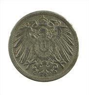 Allemagne -  10 Pfenning -1918 - TB+  -  Fer - 10 Pfennig