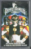 PELICULA En VHS - Original Usada - POWER RANGERS - Manga