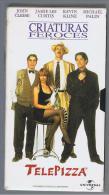 PELICULA En VHS - Original Usada - CRIATURAS FEROCES - Videocasette VHS