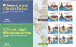 ISLANDE - YVERT CARNETS N° C753 + C754  ** ( EUROPA )  COTE = 45 EUROS - Cuadernillos/libretas
