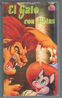 PELICULA En VHS - Original Usada - EL GATO CON BOTAS - Infantiles & Familial