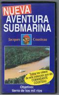 PELICULA En VHS - Original Usada - DOCUMENTAL - Jacques Cousteau AMAZONAS - Documentales