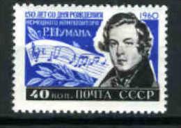 RUSSIE -1960-1962 - SCHUMANN - JJ ROUSSEAU - Muziek
