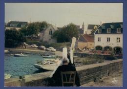29 COMBRIT SAINTE-MARINE Port . Yachts, Voitures, Bigoudènes - Animée - Combrit Ste-Marine
