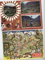Andorra - 2  Cartes - - Andorra