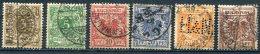 Allemagne Empire-1889-YT 45 à 50 (o)- Dont 49 Perforé - Allemagne