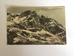 VALTOURNANCHE MONTAGNE DEL 1915VIAGGIATA IN BUONO STATO - Italien