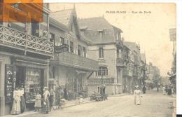 PARIS -PLAGE -Rue De Paris , Belle Animation ( Voir Scan ) - Autres Communes
