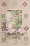 LANGAGE DES TIMBRES 361 (SEMEUSES FRANCAISES)  1912 - Timbres (représentations)