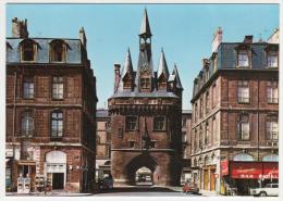 CPSM BORDEAUX, PORTE CAILHAU, BORNE A ESSENCE, AUTOS VOITURES ANCIENNES, BAR PUB CHAMPIGNEULLES, GIRONDE 33 - Bordeaux