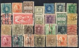 Ficha Con 27 Sellos Alfonso XIII, Varias Emisiones º - 1889-1931 Reino: Alfonso XIII