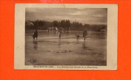 70 BEAUMOTTE 1922 - Les Glaces Aux Abords De La Papeterie (en L'état: Pliée) - Altri Comuni