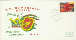 DV2-8A 2000 COVER 44th ANNI KV DE MARKOEF MELICK. CARNAVAL ASSSOCIATION MELICK. KARNAVAL. - Carnaval