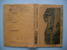 Busta Sviluppo Foto MANDELLI Primaria Fotografia - COMO Anni'20 - Vecchi Documenti