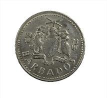 Barbados - 25 Cents - 1973 - C.Ni - TTB - Barbades