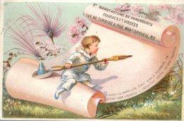 Paris, A La Pointe St Eustache, C. Remontey, Chromo Lith. Laas, Pierrot écrit à Colombine - Autres