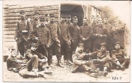 Carte Photo Militaire - Soldats 39e Régiment Infanterie Rouen 1913 - Photo LONGUET - Regiments