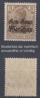 Dt.Post Polen,7b,xx,gep. - Besetzungen 1914-18