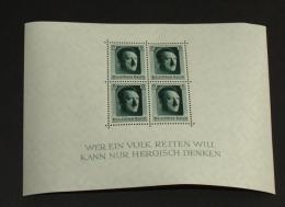 Deutsches Reich Block: 7  Postfrisch  #B472 - Blocks & Kleinbögen