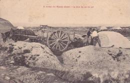 A TRAVERS LES MARAIS SALANTS La Mise En Sac Du Sel - France