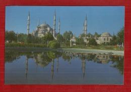 TURKEY-ISTAMBUL  THE  BLUE    MOSQUE  SULTANAHMET CAMIL--1616,Y - Turquie