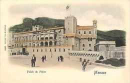 Monaco -ref B730- Palais Du Prince  - Carte Bon Etat - - Monte-Carlo