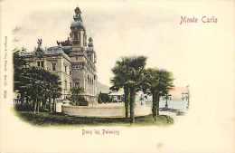 Monaco -ref B729- Monte Carlo - Dans Les Palmiers  - Carte Bon Etat - - Monte-Carlo