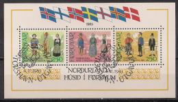 DK - Färöer  (1983)  Block 1  Gest. / Used  (bl64) - Féroé (Iles)