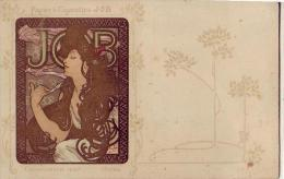 Illustrateur   Alphonse Mucha   Pub Calendrier Job 1897 - Mucha, Alphonse