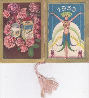 CALENDARIETTO CHARM DONNINE LIBERTY  PUBBLICITA' CREMA GIOCONDAL MILANO       -2--0882-16777-778 - Calendars