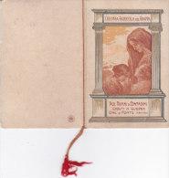 CALENDARIETTO ALMANACCO COLONIA  AGRICOLA DEL GRAPPA  1920 ONE' DI FONTE (TREVISO)      -2--0882-16780-779 - Petit Format : 1901-20