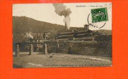 BESSEGES - Mines De Lalle (état :coin) - Bessèges