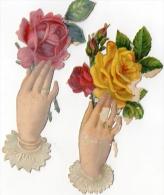 DECOUPIS  FLEURS  (lot De 2)  = - Flowers