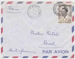 Z] Lettre Cameroun Cameroon Independance Independancy Premier Ministre 1961 Politique - Cameroun (1960-...)