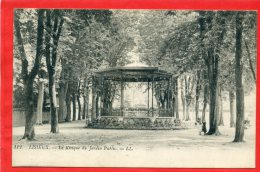 LISIEUX 1915 KIOSQUE DU JARDIN PUBLIC CARTE EN TRES BON ETAT - Lisieux