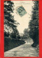 LISIEUX 1906 VUE SUR LISIEUX ROUTE DE ROUEN CARTE EN TRES BON ETAT - Lisieux