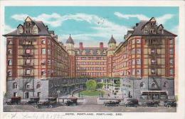 Oregon Portland Hotel Portland 1935