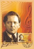 GEORGE ENESCU,COMPOSER & CONDUCTOR, CM, CARTE MAXIMUM,2006,ROMANIA - Musique