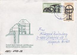 DDR Bedarfs-Brief Mi.-Nr. 2957-2958 - Stempel Tangerhütte (0344) - Storia Postale